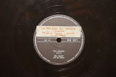 10''/ 78 rpm- Bill Haley - London HLB 8371 - Rock the Joint/ Yes Indeed