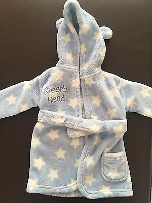 0-6 Month Baby Boy Dressing Gown