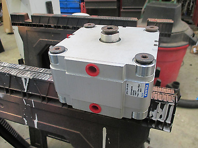 Festo pneumatic cylinder 100 mm bore x 10mm stroke Model ADVU-100-10-PA