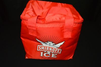 Smirnoff Ice 6 Pack Red Soft Sided Coller