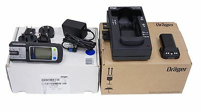 Draeger 4542261 X-AM 2500 4-Gas Monitor w/ Rechargeable Battery Kit