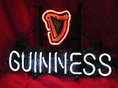"""Guinness Beer Brewery Sweet Beer Bar Pub Neon Sign 13""""x8"""""""