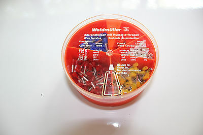 Unused New Old Stock Weidmuller 902590 Ferrule Kit - Sizes 14-20 AWG