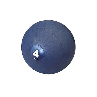 4kg Slam Ball Dead Ball Medicine Ball for Gym Fitness Crossfit Weights Training