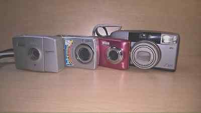 Camera Lot of 4 ( Canon,Kodak,Pentax, Vivitor)