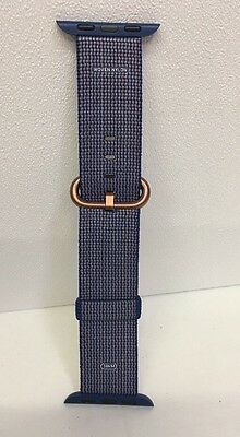 Genuine Apple Watch Woven Nylon Band (38mm, Royal Blue) MM9N2AM/A -