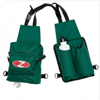 Zilco horse riding Saddle bags insulated 2 Drink Bottle holder+2 drink bottles