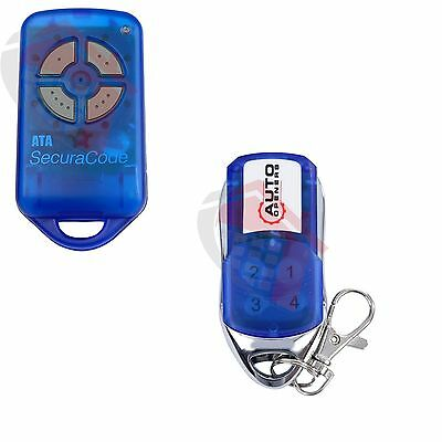 Garage Door Remote Auto Openers Compatible ATA PTX4 High Quality Transmitter x1