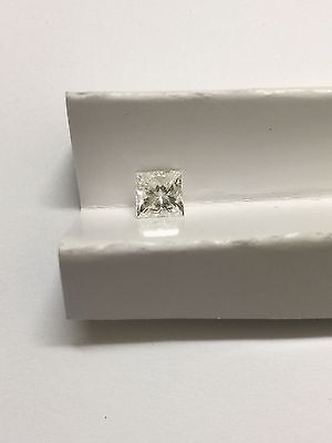 0.91ct Princess Cut Excellent Make Loose Diamond. F/SI1. With Auscert.