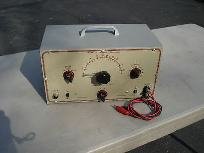 Vintage Heathkit AG-7 Sine and Square Wave Audio Generator   Working W/Leads