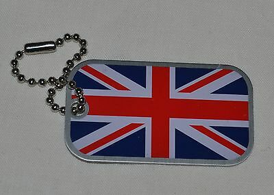 UK Flag Travel Tag. The Union Jack. Trackable. Unactivated. Geocaching.