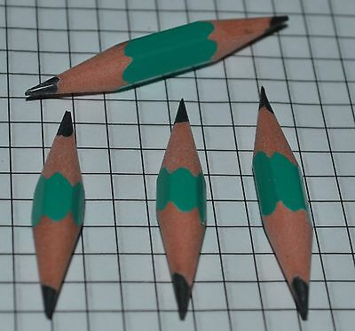 extra durable plastic pico pencils 40mm 1½ inch for geocaching - price for 4