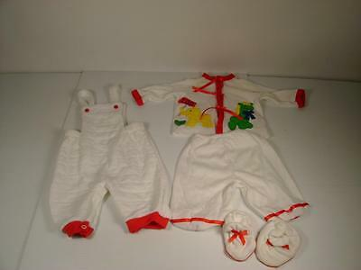 VTG Baby Clothing PATSY AIKEN 4 PS BABY BOYS/DOLL OUTFIT SLEEPWEAR MADE IN USA