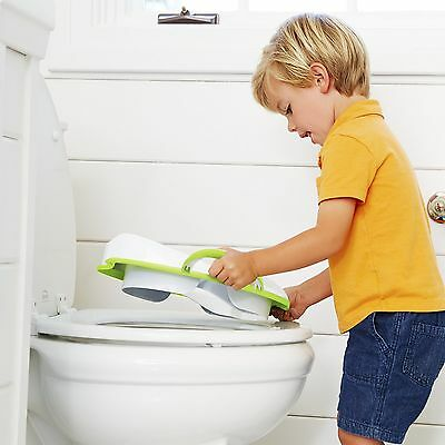 Portable toddler potty seat Sturdy Easy To Travel Bathroom Tools For Kids New