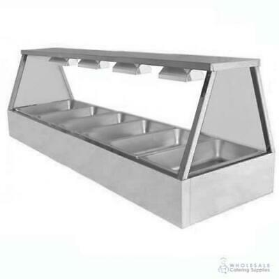 Hot Food Display Self Service 6 Bay Benchtop Woodson W.HFSS26 NO PANS INCLUDED