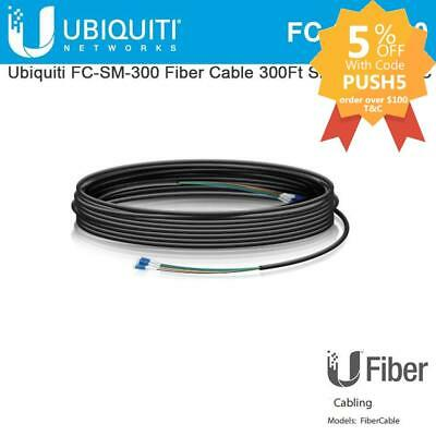 Ubiquiti Networks FC-SM-200 Single Mode LC Fiber Cable - 90m FC-SM-300