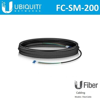 Ubiquiti Networks FC-SM-200 Single Mode LC Fiber Cable - 60m FC-SM-200