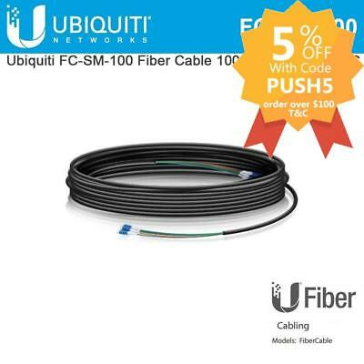 Ubiquiti Networks FC-SM-100 Single Mode LC Fiber Cable - 30m FC-SM-100