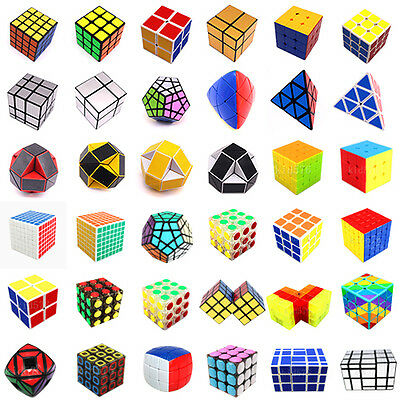 UK Professional Magic Cube Speed Twist Puzzle Classic Brain Game Toy Gift