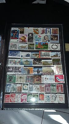 58 TIMBRES Allemagne (lot FE4)
