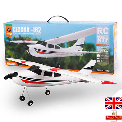 New WLtoy 2.4G Remote Control Plane 3CH RC Airplane Glider Outdoor Toy S153