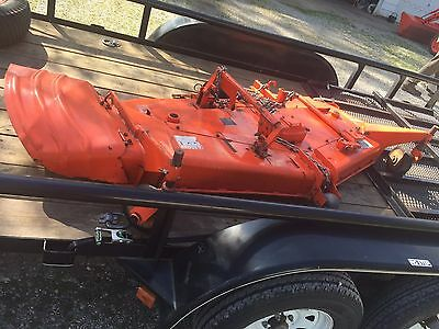 "Kubota 72"" Tractor Mowing Deck Rc72-29 Excellent"
