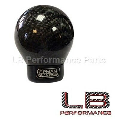 Universal Carbon Fiber Gear Speed Lever Shift Knob Ball For Honda Toyota Mazda