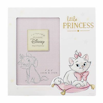 Disney Marie Little Princess Aristocats Baby Photo Frame Gift Pink