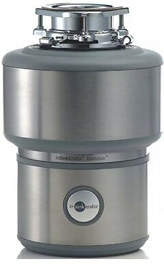 InSinkErator Food Waste Disposer, Mod 75275 Stainless Steel Evolution 200, Quiet