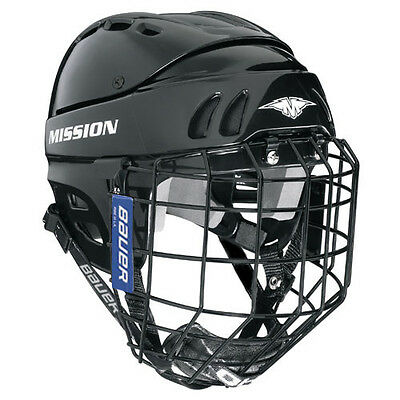 Mission M1505 Combo Ice Hockey Helmet Size Senior Hokejam.lv