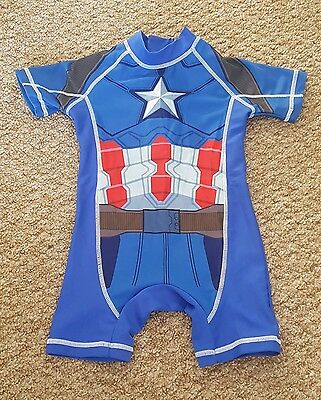 12-18 months Captain America UV Swim Suit from Next. Excellent condition