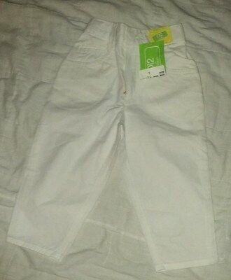 Vintage Girls High Waist Pants Benetton NWT Size 0 or 74 cm or 12-18 m