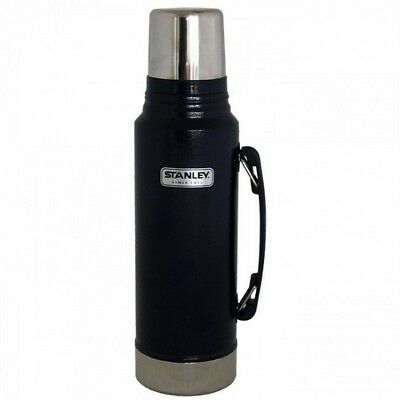 Stanley Classic 1L Vacuum Insulated Thermos Flask - NAVY - Hot / Cold 24 hr