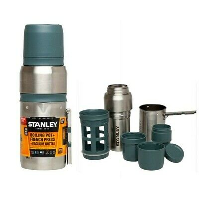 Stanley Mountain 500ml Coffee System -Boiling Pot + French Press + Vacuum Bottle