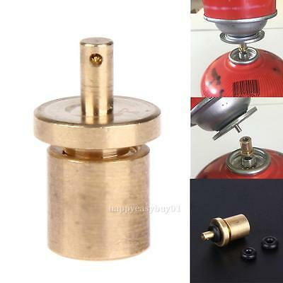Propane Refill Adapter Outdoor Camping Stove Gas Cylinder Tank Coupler Heater UK