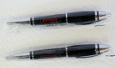Pharmaceutical  Zyvox  Wide Body Black and Chrome Heavy Metal Pen  Awesome !