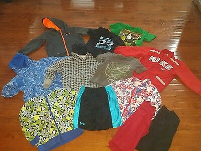 huge lot boys size 5/6 clothing 12 items Nike Under Armour H&M Old Navy