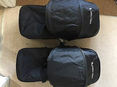 baby jogger compact carrycot X2