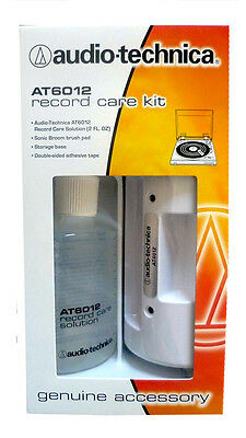 New! Japan Audio-technica AT6012 Record Cleaning Solution / Record Care Kit LP
