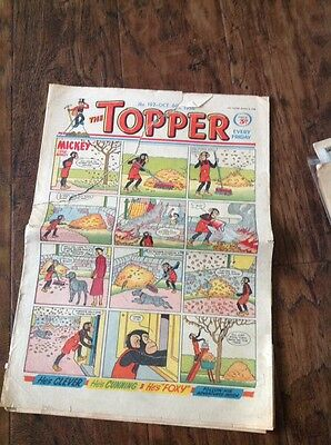 THE TOPPER COMIC, No 192 October 6th 1956