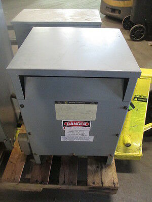 Square D 15 Kva 60 Hz Dry Type Transformer 15S1H