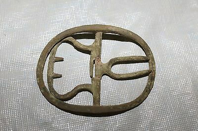 Antique 1700's Metal Shoe Buckle