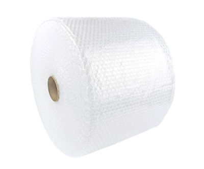 """Bubble Rolls Small Bubbles 300 FT 3/16 12"""" Wide Perforated 12"""" Rolls"""