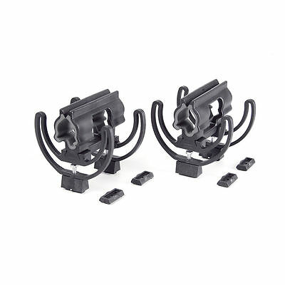 Rycote 040156 pair of modular Duo Lyre 68 (19/34). With stereo risers. (S107)