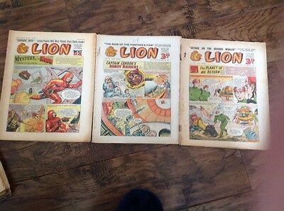 Lion Comics X 3 From The 50s Numbers 239 141 193