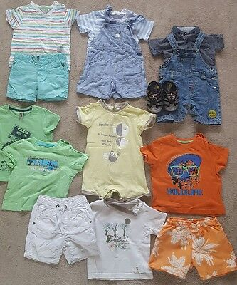 12 to 18 months boys bundle of clothes, summer.