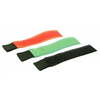 25 Reusable Cable Straps Wire Tidy Cord Ties Adjustable Velcro 3 Colours 3 Sizes