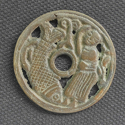 China old Chinese ancient copper coin collecting hobby Diameter:45MM