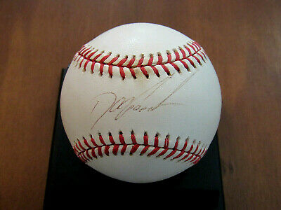 Dwight Gooden Doc 1985 Roy Cy New York Mets Yankees Signed Auto Baseball Jsa
