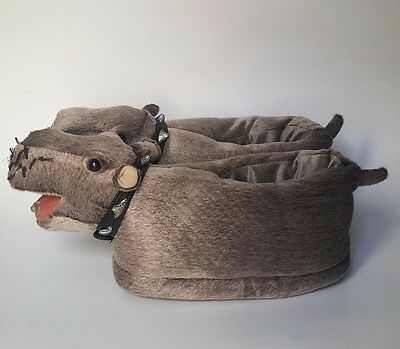 NCIS Bert the Farting Hippo Slippers Gray (Fart Sound Does NOT Work)